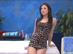 Hot 18 year old Candace gives MORE than just a massage!