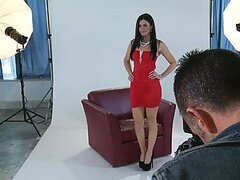 Shooting Up A Hardcore Scene With The Gorgeous Brunette India Summer