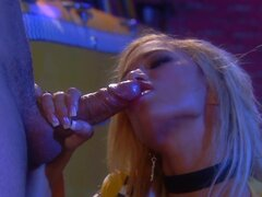 Slender taxi babe Shyla Stylez being fucked in her anal