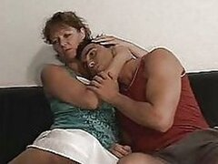 German Mother And Girl