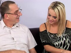 Kitty The Cute Blonde Loves To Be Fucked Older Schlong