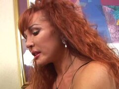 Mature Vanessa Bella and Young Claire James Lesbian Lovers
