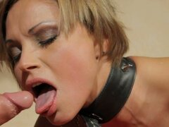 Szilvia Lauren gets tortured and hotly fucked doggy style