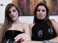 Two attractive babes set up a lesbian encounter to share their passion for fisting