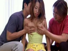 Japanese Model Gets Her Nipples Licked