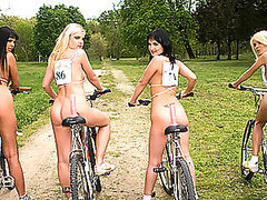 Nude Nike Racing With Breath Taking Hotties