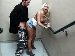 Another Public Fellatio From Blonde Hottie / Britney Amber