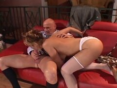 Extreme cock adventure with fervent blonde momma