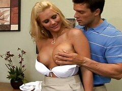 Today on Big Tit Boss Phoenix was having a sex